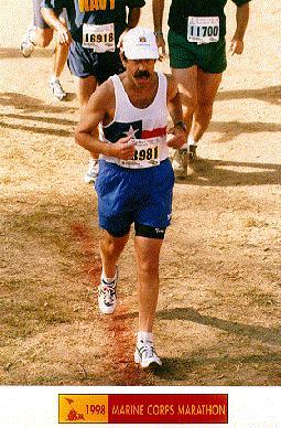 Marine Corps Marathon, 1998