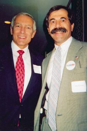 Alan Kotok and Wes Clark, photo by Sharon Kotok