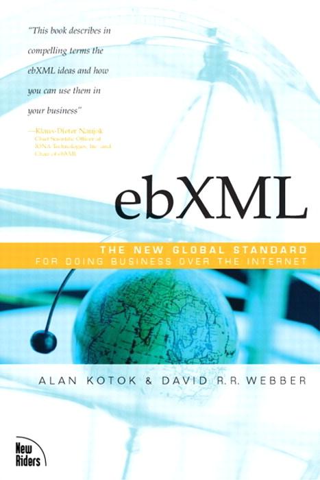 ebxml book cover - English