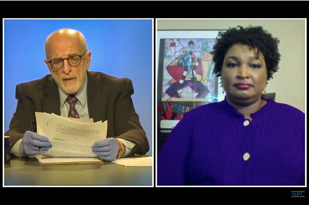 Census Day virtual newsmaker with Stacey Abrams