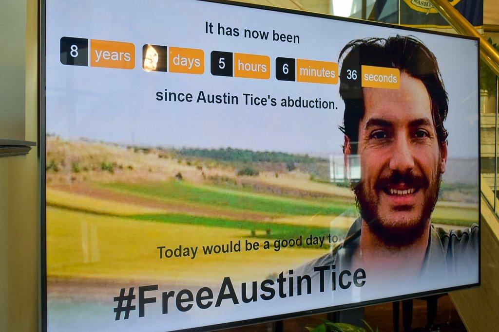 Austin Tice freedom clock
