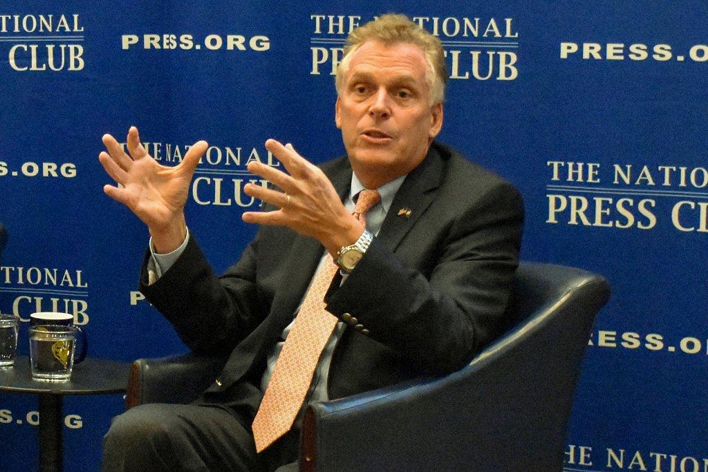 Former Virginia governor Terry McAuliffe